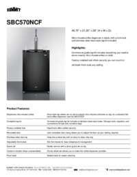 Brochure SBC570NCF