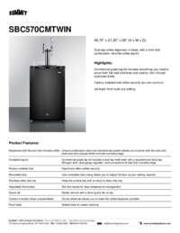 Brochure SBC570CMTWIN