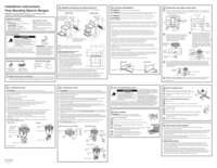 Installation Sheet