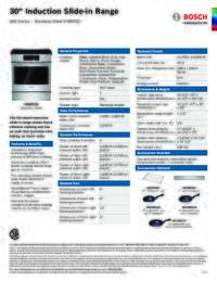 HII8055U Specifications Sheet