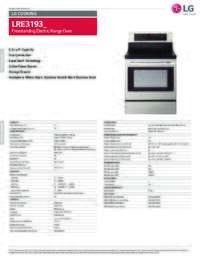 LRE3193 Spec Sheet