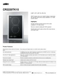 Brochure CR2220TK15
