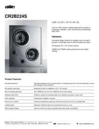 Brochure CR2B224S