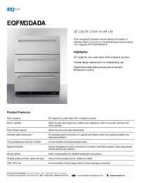 Brochure EQFM3DADA