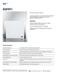 Brochure EQFR71