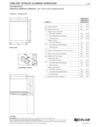 Dimension Sheet