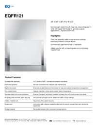 Brochure EQFR121