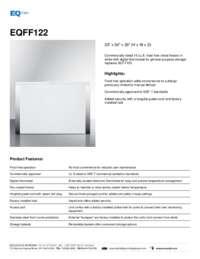 Brochure EQFF122