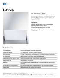 Brochure EQFF222