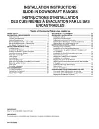 Installation Sheet
