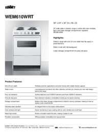 Brochure WEM610WRT