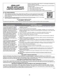 Warranty Sheet