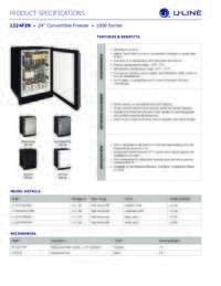 Spec Sheets