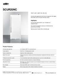 Brochure SCUR20NC