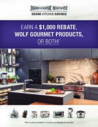 Sub-Zero/Wolf/Asko - Earn a $1000 Rebate