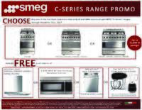 SMEG - C-Series Range Promo Up To $1099 In Savings