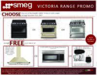 SMEG - Victoria Range Promo Up To $1699 in Savings