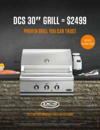 DCS $300 Instant Savings on BH1-30R Grill