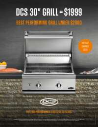 DCS $200 Instant Savings on BGC30-BQ Grill