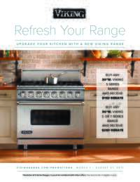Viking - Refresh Your Range (up to $250 value)