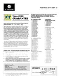 GE - Wall Oven Fit Guarantee (up to $300 value)