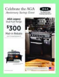 Aga Legacy - Dual Fuel Range Rebate ($300 value)