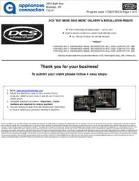 DCS - June and July Rebate with Bonus Up To $400