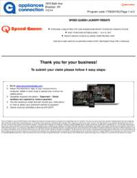 Speed Queen - Laundry Pair Rebate $100 Off