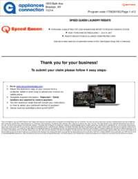Speed Queen - Laundry Pair Rebate $100 Off