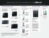 Dacor - Jump Start Your Dream Kitchen (up to $3598 value)