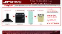 SMEG - 50s-Style Rebate Packages ($2000 value)