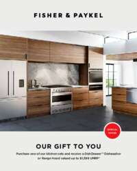 Fisher Paykel - Kitchen Package Promotion (up to $1399 off)