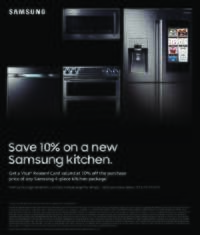 Samsung - Summer Kitchen Package Offer