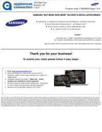 Samsung - Up To $200 Rebate For Individual Category Purchases