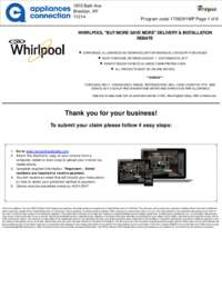 Whirlpool - August/September Rebate with Bonus Up To $300