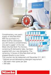 Miele - EcoFlex Dishwasher Offer