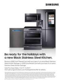 Samsung Rf28hfedbsg 36 Inch Black Stainless Steel Series