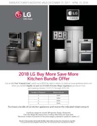 LG - Buy More Save More (Value up to $500)