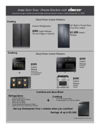 Dacor - Jump Start Your Dream Kitchen (up to $3348 value)