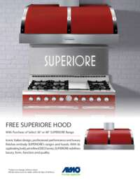 Superiore - Free Hood Promotion (up to $3250 value)