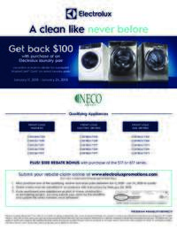 Electrolux - A Clean Like Never Before (up to $200 value)