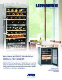 Liebherr - Wine Cabinet Offer ($999 value)