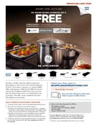 GE - Induction Slide-in Range Promo