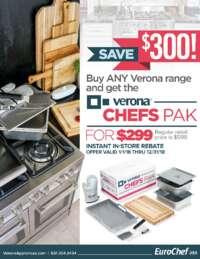 Verona Chefs Pak Save $300