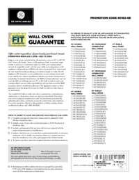 GE - Wall Oven Fit Guarantee