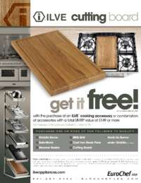 ILVE - Cutting Board Promo ($199 value)