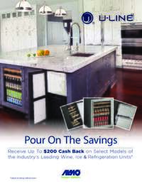 U-Line - Pour On The Savings (Up To $200 value)