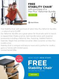 Merrithew - Free Stability Chair ($1499 value)