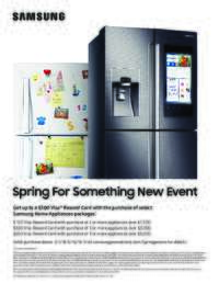 Samsung - Spring For Something New Event (up to $500 value)