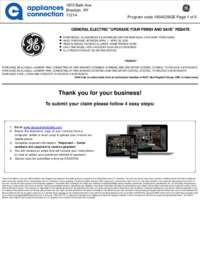 GE - April Rebate